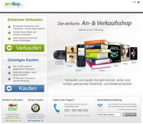 Abb.1: Startseite mit den Einstiegen Verkaufen oder Kaufen