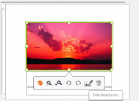 Photobox.de: Funktion zur Bildbearbeitung