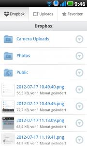 Navigationskonzepte der Telekom-App