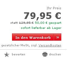 Neckermann Produktdetailseite