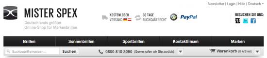 Header bei misterspexx.de