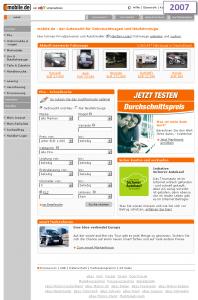 Mobile.de – Januar 2007
