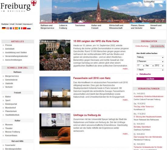 Freiburg - schnell zum Ziel