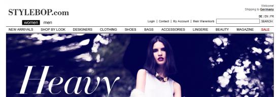 Stylebop Startseite