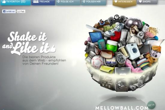 Mellowball Startseite