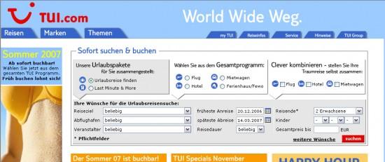 TUI.com 2006
