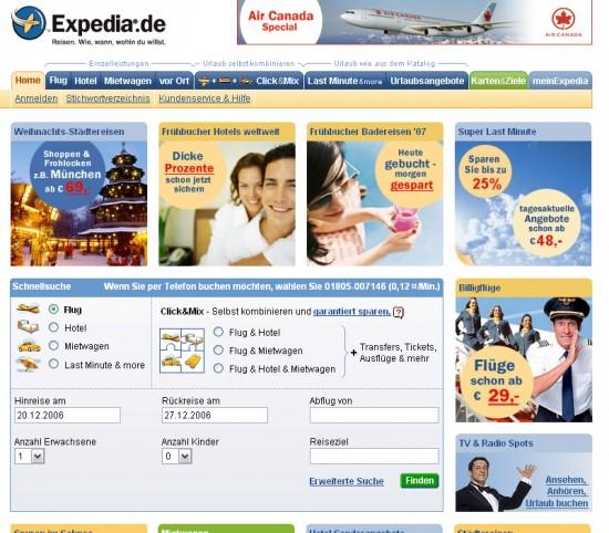 Expedia.de 2006