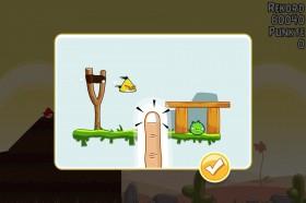 Angry Birds Bedienungsvisualisierung