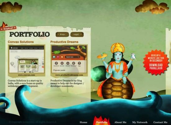 Site von Indo Folio