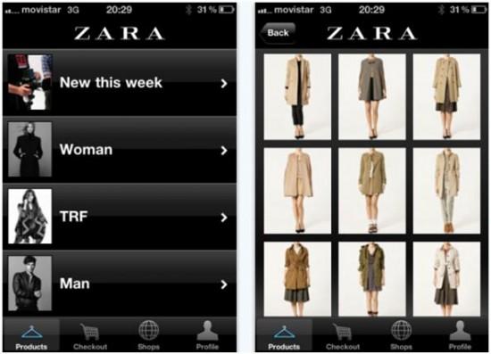 App Zara