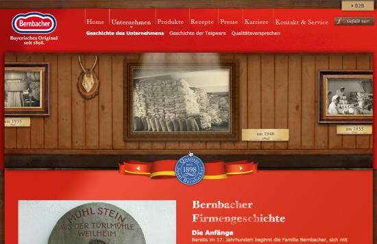 Firmengeschichte Bernbacher