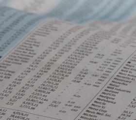 Listen von Aktienkursen