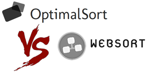 OptimalSort vs WebSort