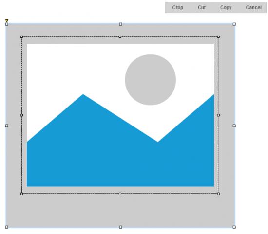Abb. 3: In Axure RP 7 lassen sich Bilder zuschneiden und Teile eines Bildes ausschneiden oder kopieren