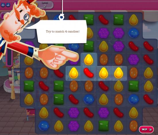Candy Crush Saga Tutorial