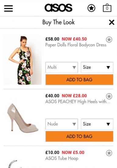 "m.asos.com: Cross-Selling über ""Buy The Loo""-Modus"