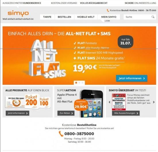 simyo Screenshot