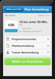 Runkeeper Plan
