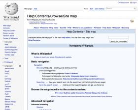 Wikipedia-Sitemap