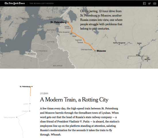 Screenshot Website NYT