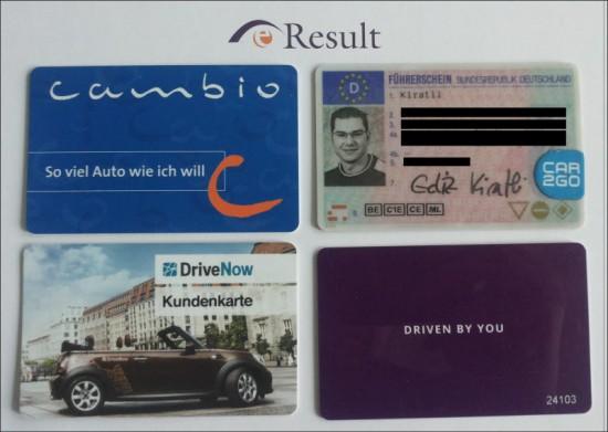 Die neue Vielfalt der Carsharing-Kundenkarten