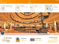 Abb. 4: Die App zeigt die Filialen von deren schönsten Seiten (hier: Köln).