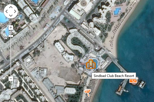 Abb. 2: Alternative Luftbild-Darstellung bei Google Maps
