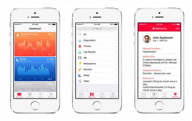 Abb. 1: Apple Health (apple.de)