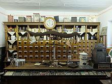 Historischer Laden im Museum Perleberg