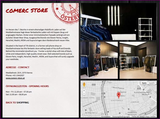Abb. 4: Positives Beispiel für Shoppingmöglichkeiten