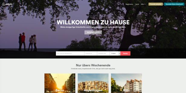 """Auch die Headline des Videos """"Willkommen zu Hause"""" unterstreicht die Message von Airbnb"""