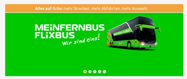 Abb. 2: Flixbus.de - Änderungen dem Nutzer immer sichtbar mitteilen