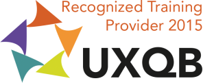 UXQB Reconized Training Provider 2015