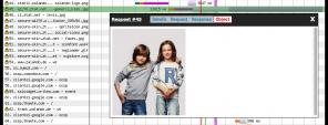Screenshot Wasserfalldiagramm WebpageTest