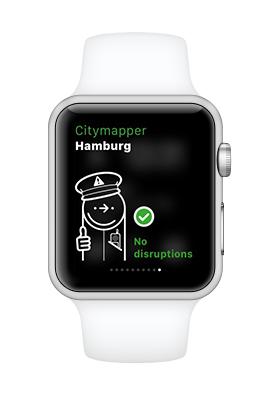 Heute mal keine Bus- oder Bahnausfälle in Hamburg.