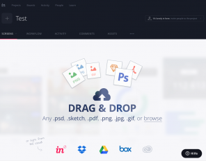 Screenshot Invision