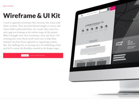 Abbildung Wireframe-UI-Kit