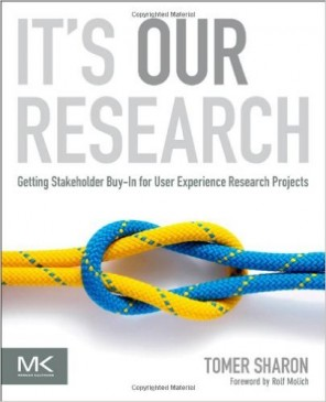 Cover Buch It's Our Research