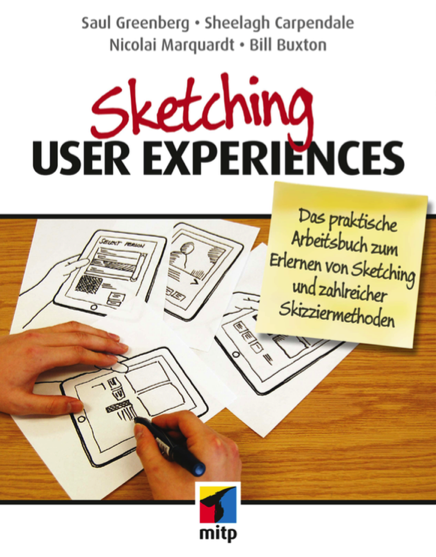 Buchcover Sketching User Experiences