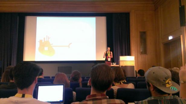 Vortrag zu AI Design von Agnieszka Walorska