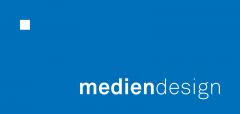Logo der Firma mediendesign