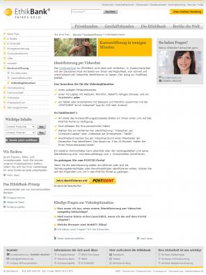 Umfangreiche Informationen und Hilfsangebote bei der Ethikbank