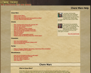 Screenshot Chore Wars