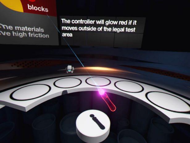 Screenshot Sony VR