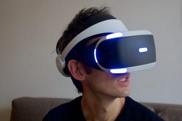 Playstation VR im Einsatz