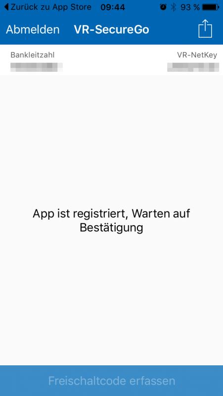 App-Registrierung