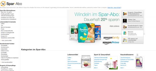 Das Amazon-Spar-Abo für die einfache Bestellung