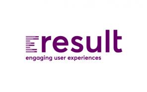 eresult GmbH Logo mit Claim