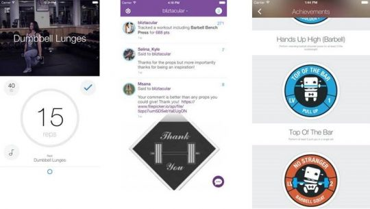 Fitness-App lässt sportliche Aktivitäten zum Spiel werden