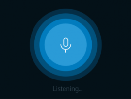 Voice User Interfaces haben kein oder nur ein minimalistisches visuelles Interface.